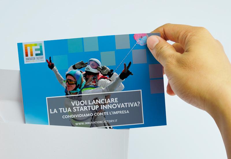 Cartolina campagna promozionale aziendale