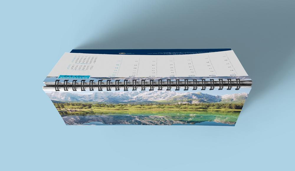 Calendario personalizzato Studio Spagna