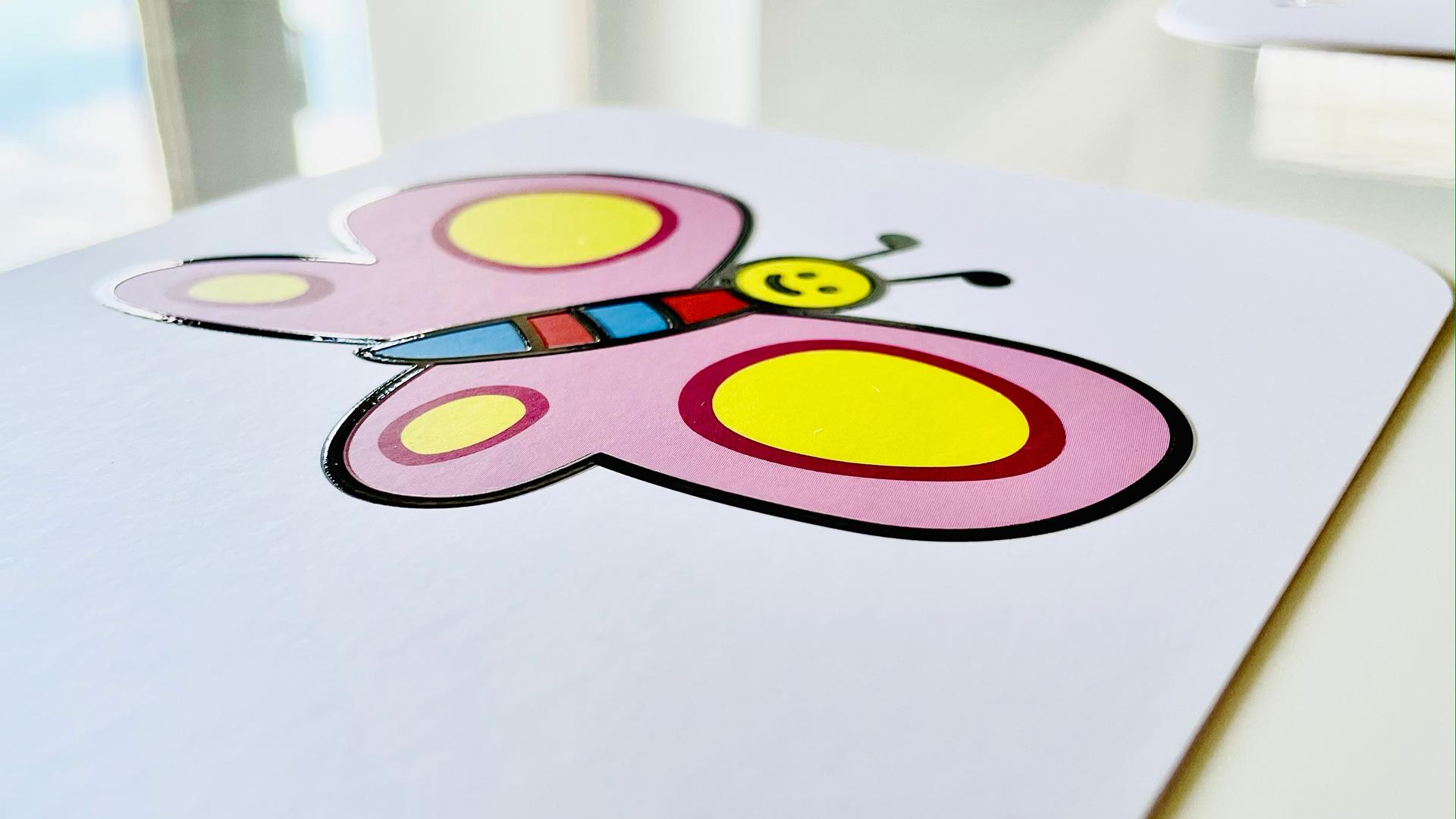 Dettaglio illustrazione carte Rime Bambine Altan