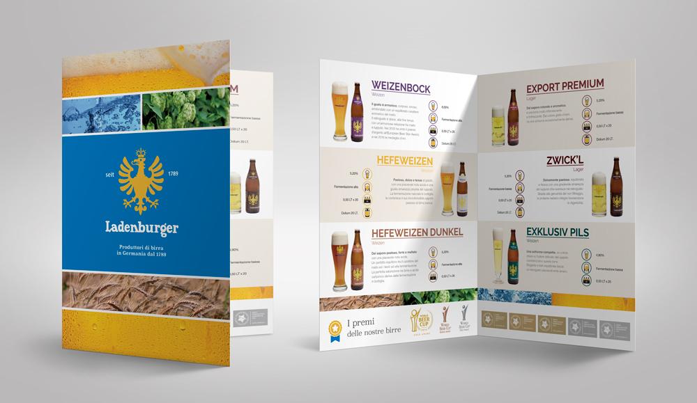 Catalogo/menu birre fiera grafica