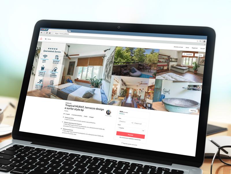 Pagina Airbnb Trieste Villas