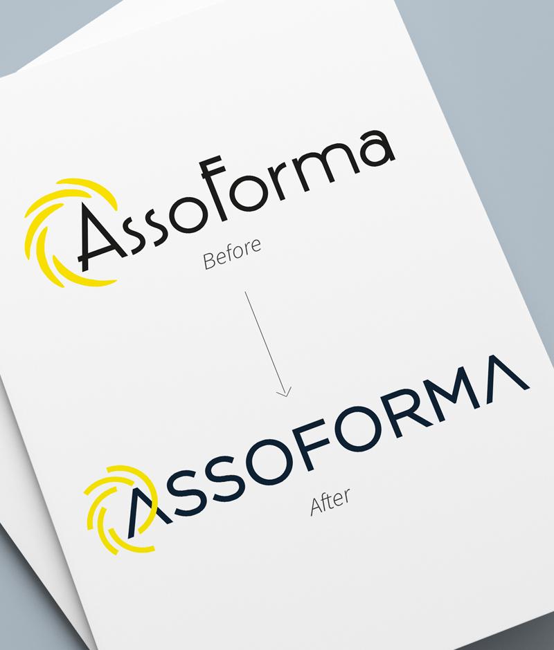 Restyling logo Assoforma