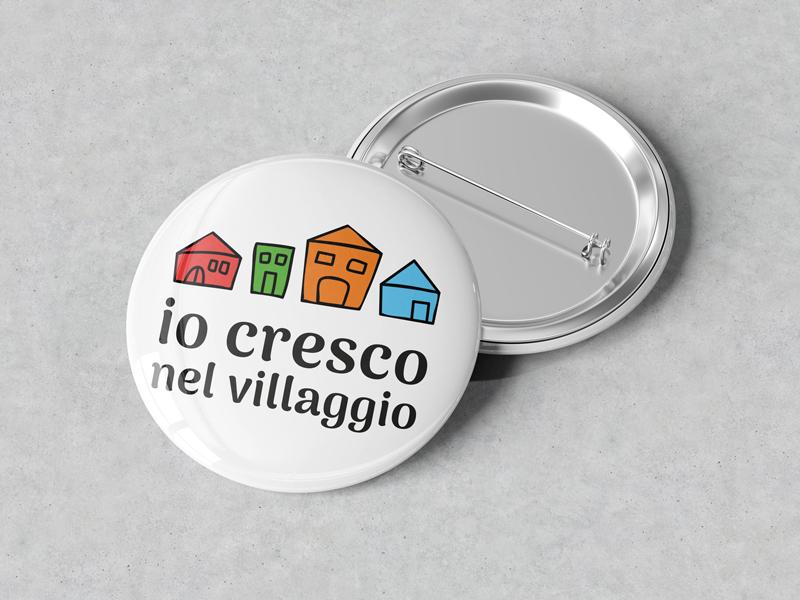 Spilla Personalizzata un villaggio per crescere