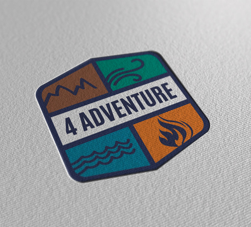 Logo Design sito web 4adventure