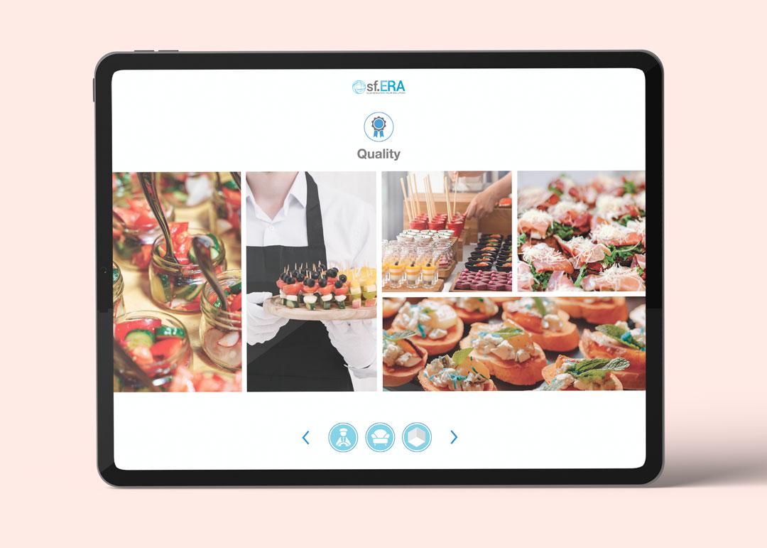Presentazione aziendale Sf.Era con iPad